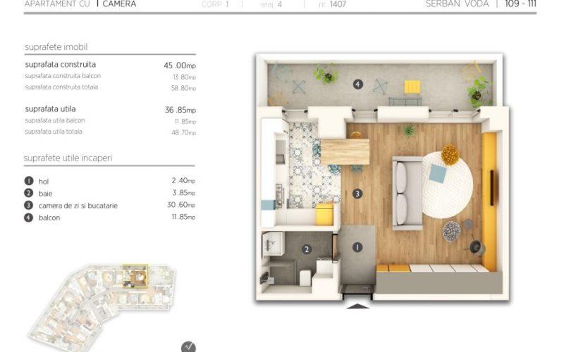 Plan 2d studio