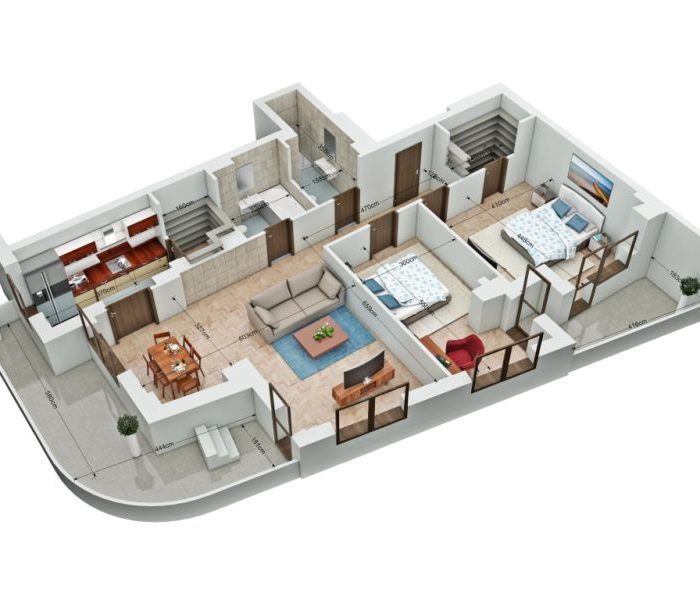 3camere etaj 5